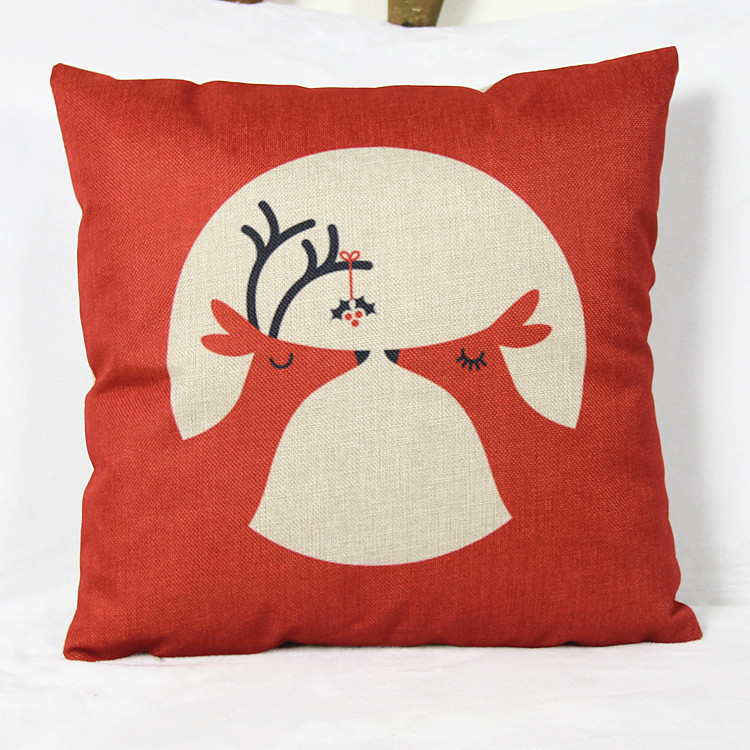 2015 Seat Cushion Without Core deer Animal Decorative Home Decor Sofa Chair Throw Pillows Decorate Pillow Cushions 45*45cm(China (Mainland))