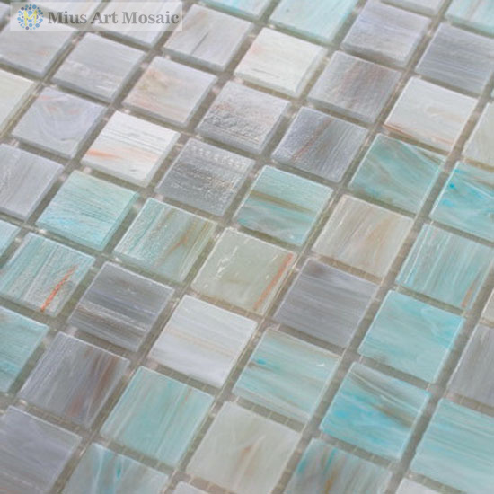 Recycled bathroom glass mosaic tiles glass swimming pool tile mosaic SP052(China (Mainland))