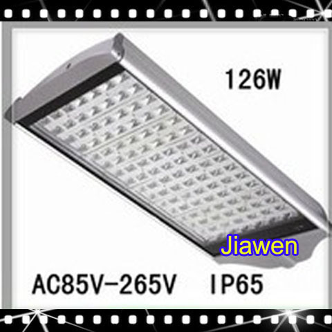 1pcs 126W AC85-265V 126LEDS E40 Warm White/White Led Street Lights For Sale Lamp Streetlight(China (Mainland))