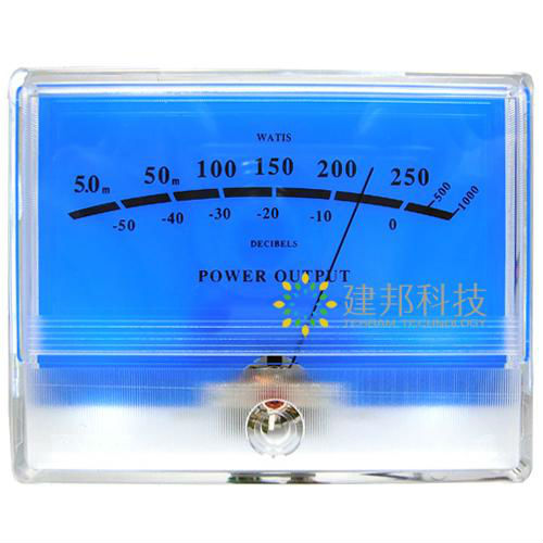Volume Level Meter : Precision vu meter level peak db table audio volume