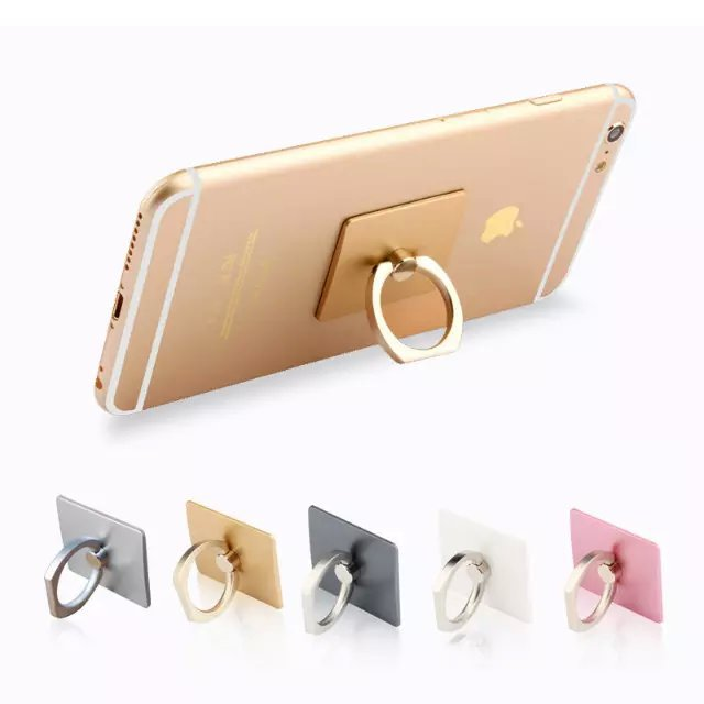 2015 Hot!!! Metal Ring Buckles Mount Stand For iPhone 6 6 plus iPad Mini Cell Phone Holder(China (Mainland))
