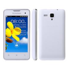 "Original Lenovo A396 Mobile Phone 4"" SC7730 Quad Core 1.2GHz Android Smartphone Wifi 3G WCDMA Dual SIM 256MB RAM 512MB ROM(China (Mainland))"