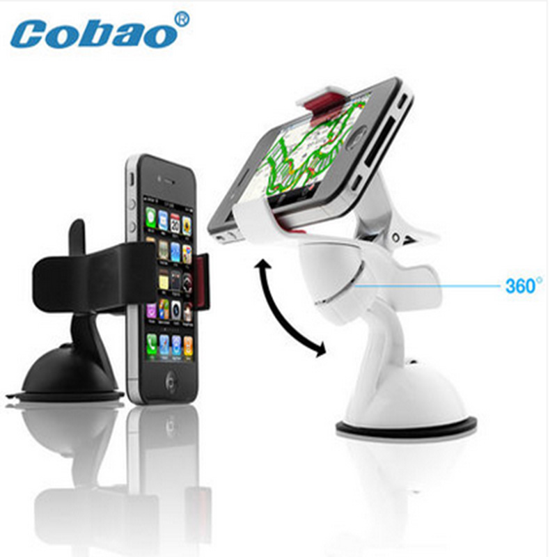 Universal Car Windshield Mount Cell Mobile Phone Holder Bracket Stands for nokia lumia 630 640 for htc one m7 m8(China (Mainland))