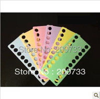 Free shipping high quality 15mm hole plastic cross stitch threading board cross stitch tools accessories 10pcs/set