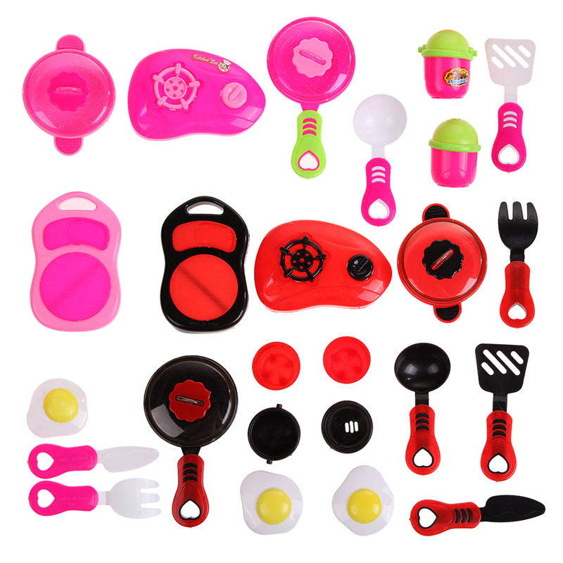 Children DIY Beauty Kitchen Cooking Toy Role Play Toy Set Educational Toys(China (Mainland))