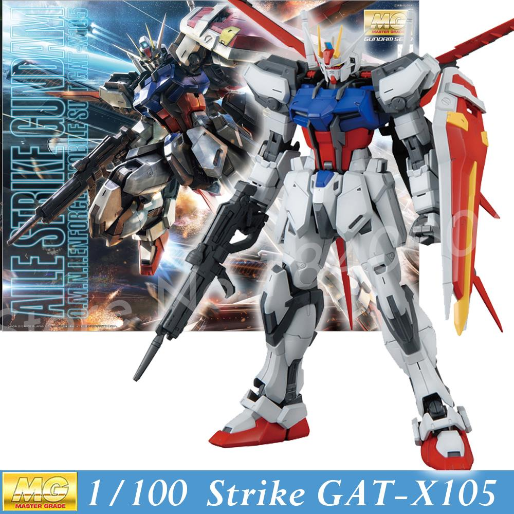 Daban Model New Gundam Seed Hobby MG GAT-X105 Aile Strike Ver. RM 1/100 Scale Action Figure Kit Assembled Toy Anime