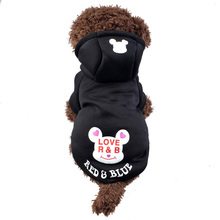 Buy Dog Pets Puppy Clothes Coat Sweater Apparel Soft Warm Cat Clothing Cute Cartoon Pets Dog Costume Supplies Teddy Poodle for $6.89 in AliExpress store