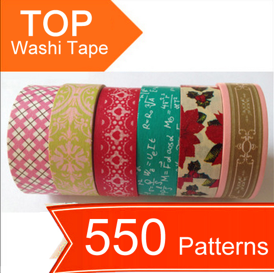 600 patterns Washi Tape,Shipping Free,colorful printing washi tape,printing washi tape,hot in market,accept mix,So lovely!