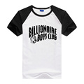 Designer t shirt men high quality BILLIONAIRE BOYS CLUB Lycra Men s T Shirt Summer 2016