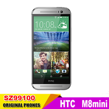 "Original HTC ONE M8 Mini 2 Unlocked Quad Core 1.2GHz 1GB RAM 16GB ROM 4.5"" 13.0MP Android OS 4.4 Cellphone Refurbished(China (Mainland))"