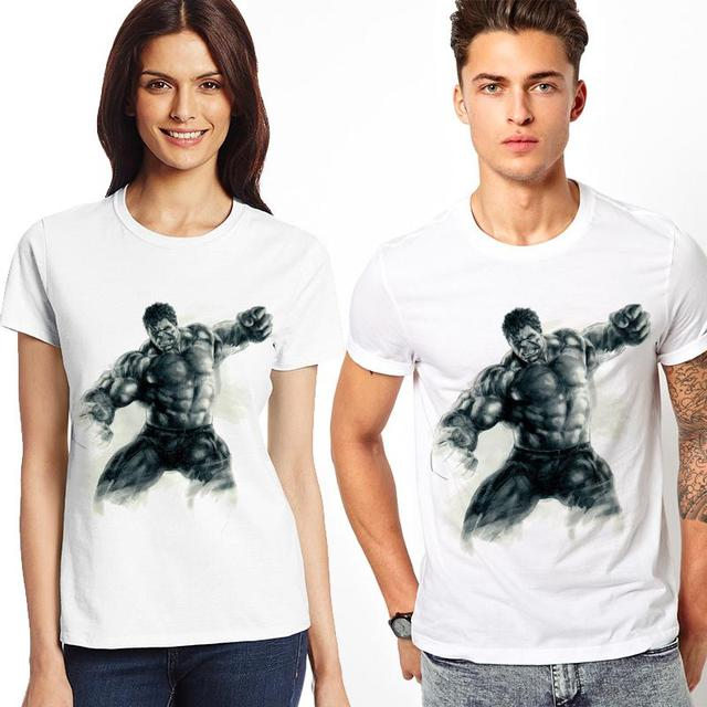 Superhero Men And Women T-shirt