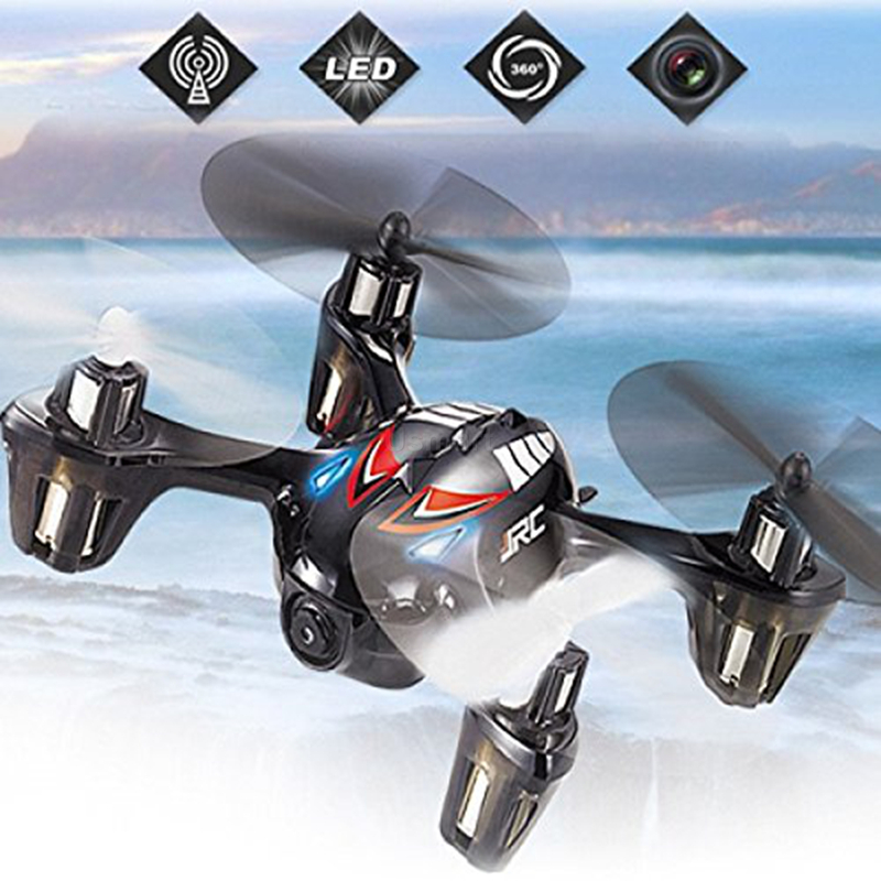 New 2MP Camera Toys Drones H6C 4 Channel 6 Axis Gyro 2.4G RC Quadcopter Helicopter 360 Degree Eversion Function LED Light(China (Mainland))