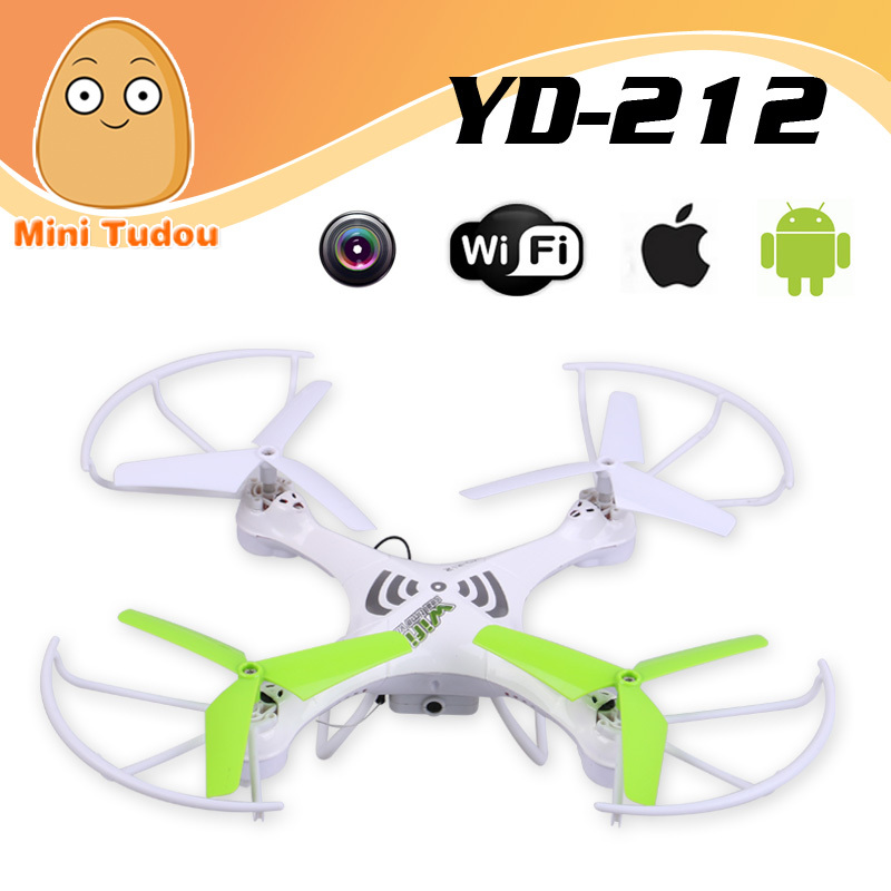 YD-212 Model RC Helicopter With Camera FPV Quadcopter 4 Channel Drone Wifi Toy Drones Hexacopter Aircraft Quadrocopter(China (Mainland))