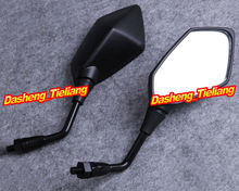 Motorcycle Left Right Rear Wing Rearview Rear View Mirrors for Kawasaki ER6N Z750 Z1000 ALL Year Black, Spare Parts Accessories