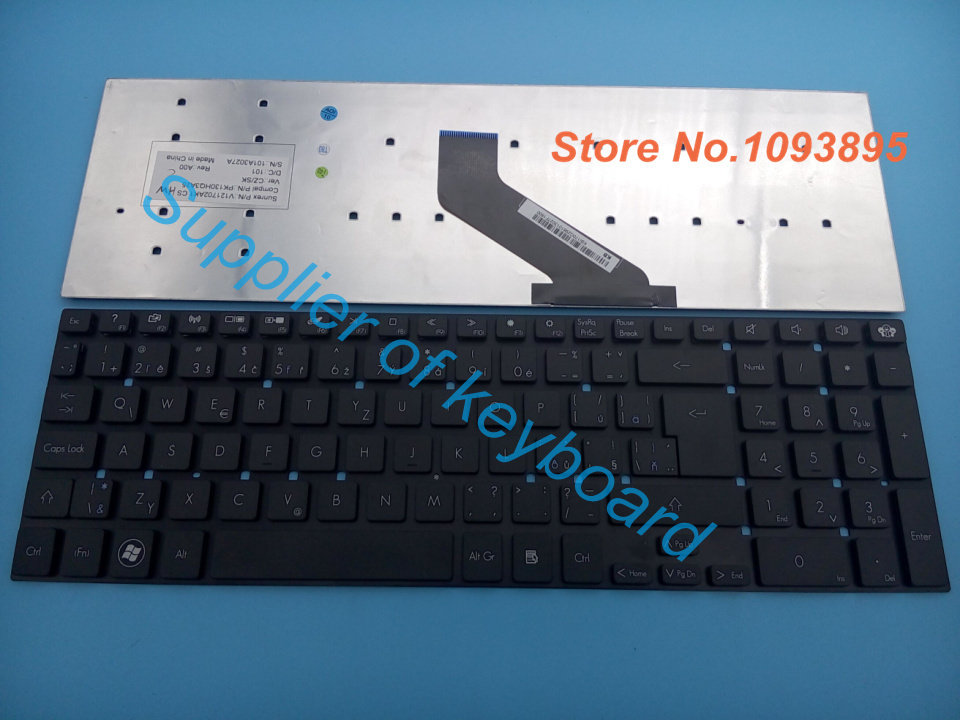 NEW Czech/Slovakia keyboard for Packard bell easynote P5WS0 TS13SB TS44HR TS44SB TSX66HR TSX62HR TV11CM Laptop Keyboard(China (Mainland))