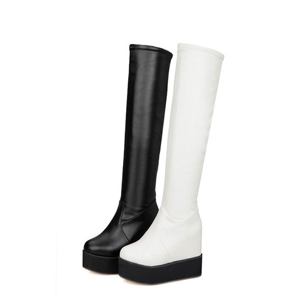 2015 autumn new sweety the knee boots