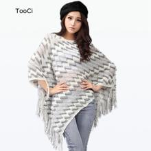2015 New Spring Autumn Winter Women Sweater Ladies  Tassels Poncho Long Knitted Pullovers Knitted Cape Coat (China (Mainland))