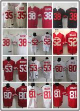 Stitiched,San Francisco 49ers Patrick Willis NaVorro Bowman Jerry Rice Anquan Boldin Randy Moss Vernon Davis smith Aldon Smith(China (Mainland))
