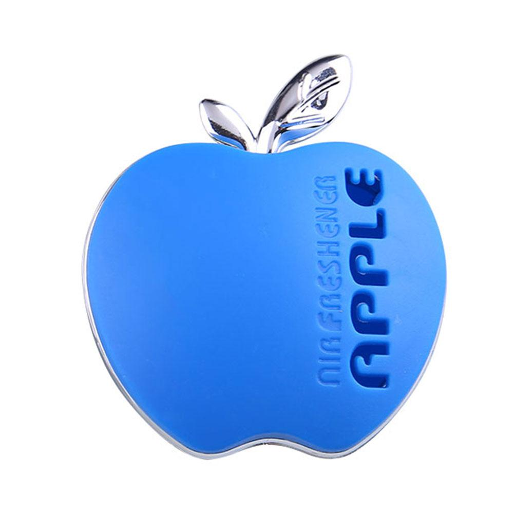 Auto Car Air Freshener Outlet Scent Hang Interior Decoration Apple Blue(China (Mainland))