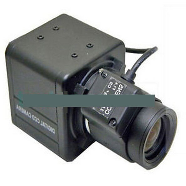 Mini 1/3inch SONY CCD 700TVL 2.8-12mm Lens Security OSD Box Camera WDR
