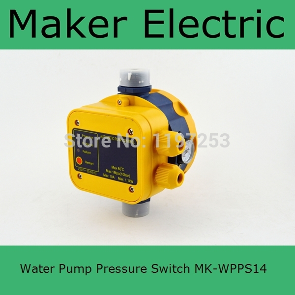 Hot Sale water pump controller MK-WPPS14 made in china<br><br>Aliexpress