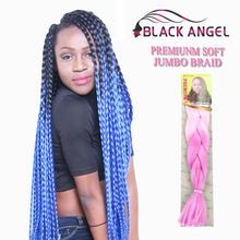 32Inch 165G Ombre Xpression Braiding Hair Kanekalon Jumbo Expression Braiding Hair Extension Crochet Braids Marley Hair