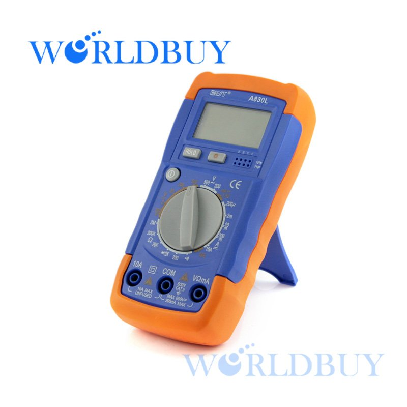 High Quality AC/DC DIGITAL CLAMP Multimeter Electronic Tester Meter Free Shipping UPS DHL HKPAM CPAM(China (Mainland))
