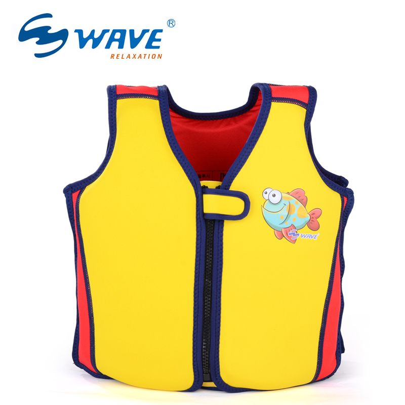 WAVE Baby life Vest Jacket 2-7 Years Child Swim Trainer Buoyancy Swimsuit float Piscine Swimming Pool Accessories float Piscine(China (Mainland))