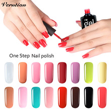 Buy Verntion Long-Lasting 3in1Gel Nail Polish Bling Soak-off One Step Nail Gel Varnish UV LED Nail Art Manicure Gel Polish for $1.39 in AliExpress store