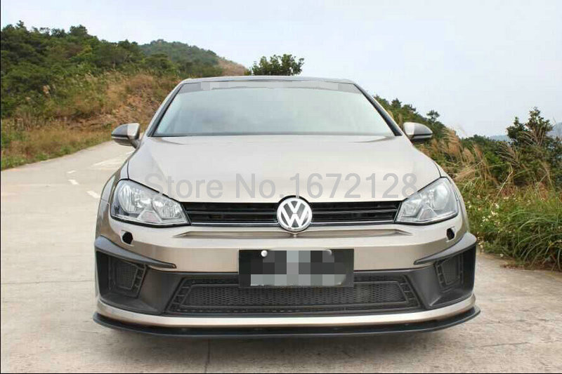 pu front bumper design for vw golf 7 r400 front bumper bodykit in bumpers from automobiles. Black Bedroom Furniture Sets. Home Design Ideas