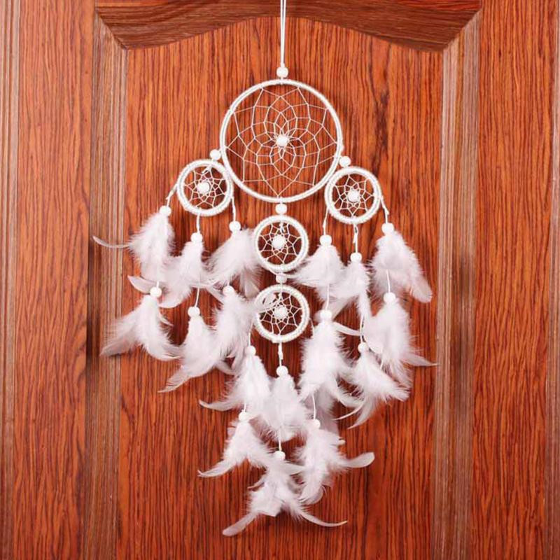 Fashion Originality Big White Dreamcatcher Wind Chimes Indian Style Home Decor