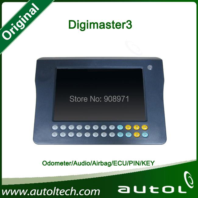 Odometer correction + Audio decoding + Airbage reset + ECU programming+PIN Code Reading digimaster 3 digital odometer reset tool(China (Mainland))