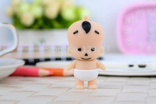 2014 cartoon lovely boy baby kid Shape USB Memory Flash Drive 2GB 4GB 8GB 16GB 32GB thumb stick cartoon pendrive free shipping(China (Mainland))