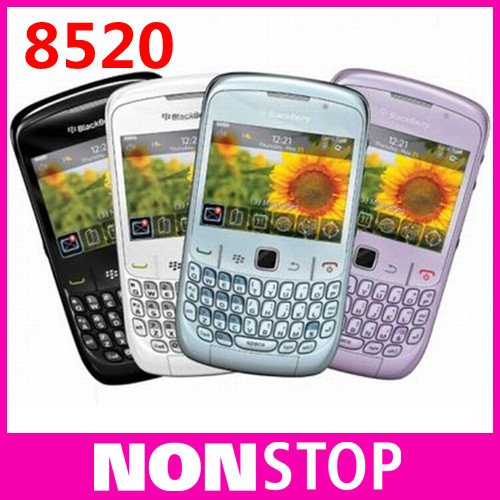 BlackBerry Curve 8520 original unlocked cell phone Free Shipping(China (Mainland))