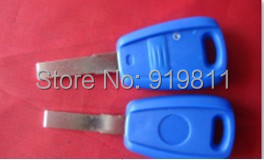 Best quality fiat 1 button remote key shell milling 10pcs/lot fee shipping(China (Mainland))
