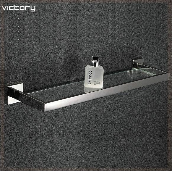 Estantes De Acero Para Baño:Accesorios de baño de acero inoxidable 304 baño estante estante