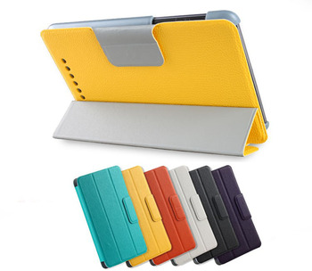 CZ Magnetic Smart Cover Wake/Sleep PU Stand Case for Google Nexus 7 Tablet 2012 1st Gen without Back camera