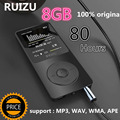 100 Original RUIZU X02 MP3 Player With 1 8 Inch Screen Can Play 100 hours 8gb