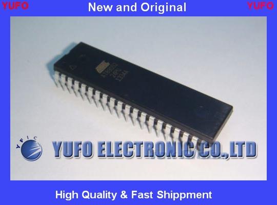 Free Shipping 2pcs AT89S52-24PU AT89S52 DIP-40 ATMEL Microcontroller 8KB Programmable Flash IC(China (Mainland))