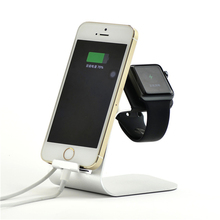 Universal Aluminum Holder & Charger Dock for apple watch/iPhone/iPad/Samsung