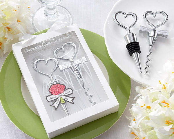 Cheers to a Great Combination Wine Bottle Stopper Opener Wedding Favours and Gifts(China (Mainland))