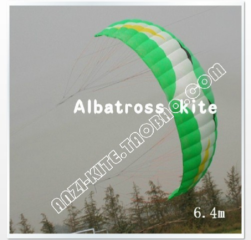 New Arrival 6.4m2 Traction Kite,Jumping Kite,Nylon Power kite set free shipping