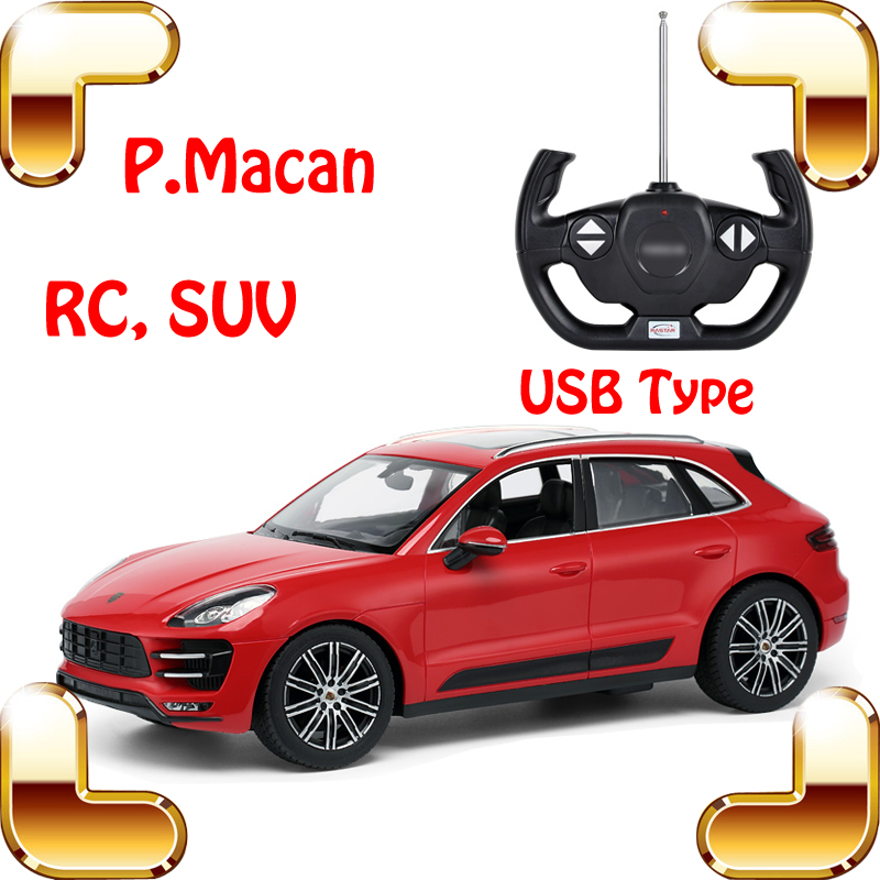 New Arrival Gift Macan 1/14 RC SUV Model Vehicle Big Racing Toy USB Charge Children Adult Fun Game Electric Drift Moving Cars(China (Mainland))