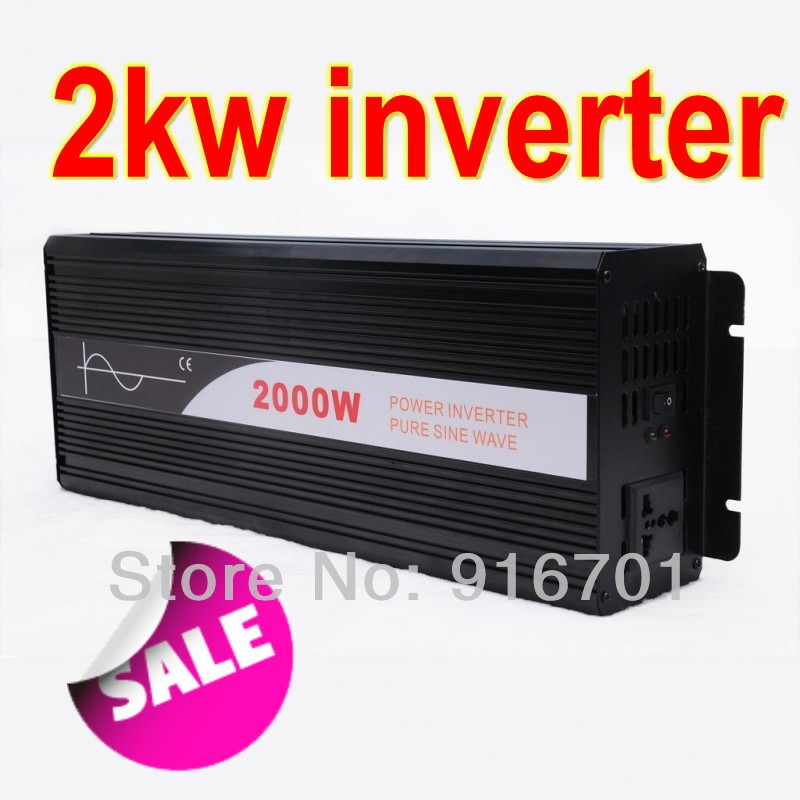 Pure Sine Wave Inverter CZ-2000S 2000w,48VDC/110VDC,Solar electric energy generation,for solar system,wholesale/retail(China (Mainland))