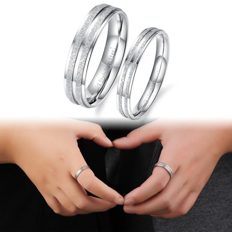 Dull Blue Wedding Ring