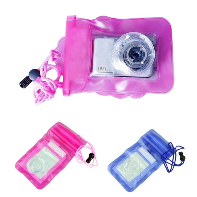 New Digital Camera Waterproof Bags Video Waterproof Cases Underwater Diving Floating Pouch for Camera best deal 1pcs(China (Mainland))
