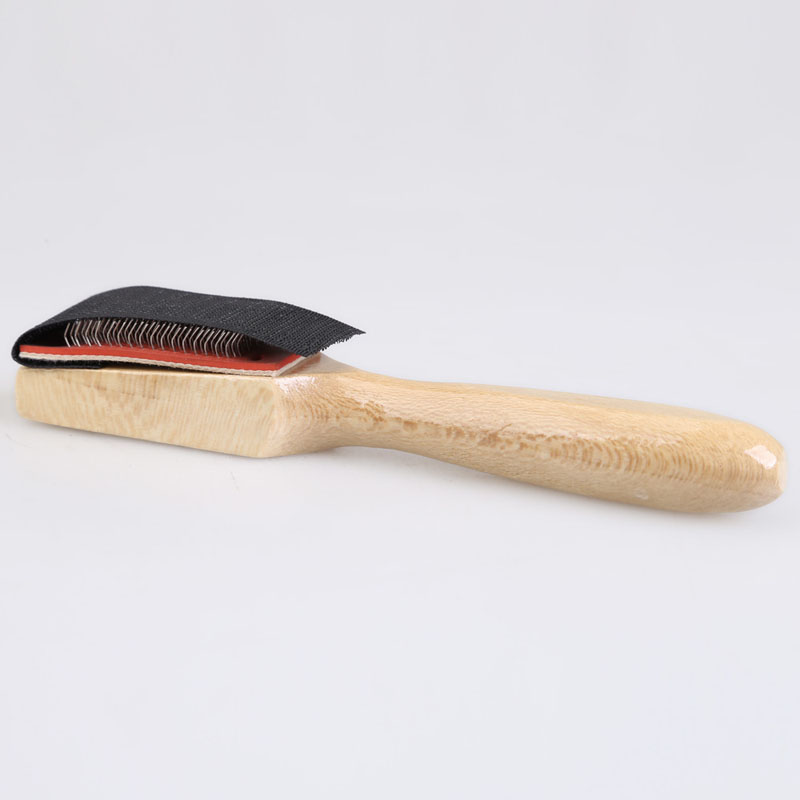 Free Shipping Men Women Wood Suede Sole Shoe Cleaners Wire Shoe Brush for Dance Shoes Best Price(China (Mainland))