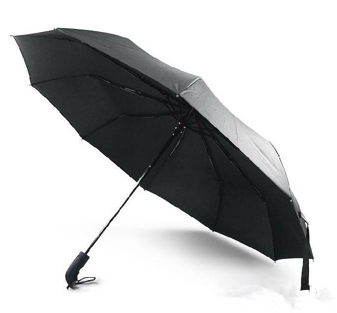 Y13 2013 Brand Daiwenwo Umbrellas Rain Wooden Handle 10 Rib Quantity Black For Men High Quality