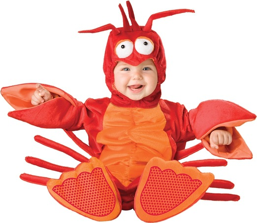 Baby Boy Girl Lobster Costume Sets Newborn/Infant/Toddler Cosplay Animal Romper + Hat + Boots Age 7-24M Free Ship Wholesale<br><br>Aliexpress