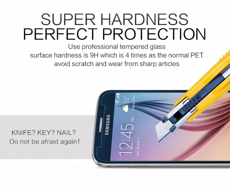 High-quality 0.26mm Tempered Glass For Samsung Galaxy Grand Prime VE G531 SM-G531H G531F G530 G5308 Screen Protector Case(China (Mainland))